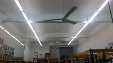 Elektrik/ electric wiring/ lampu kipas/ renovation