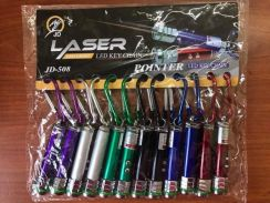 Red laser pointer with Torch LED Light P