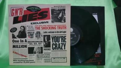 Guns N' Roses LIES 1986.1988 Geffen Records LP