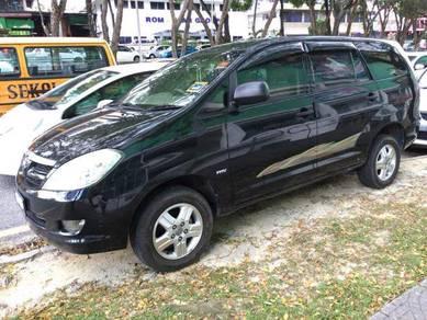 Toyota Innova for rent