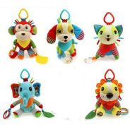 Animal Design Baby Rattle Toys Plush Newborn