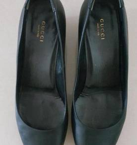 Gucci shoe leather shoes kasut kulit Italy