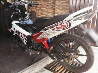 Jentera Yamaha 135LC mencari pemilik baru.