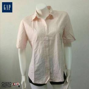 Baju GAP Blouse button up shirt female
