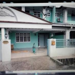 Double storey house in Bandar Sri Aman