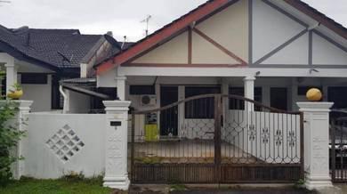 Rumah 1 Tingkat Untuk Jual Di Taman Molek