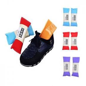 2pcs Set Charcoal Shoe Deodorizer ( 10-49-01 )