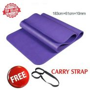 High Grade NBR 10mm Yoga Mat Gym Exercise Mat