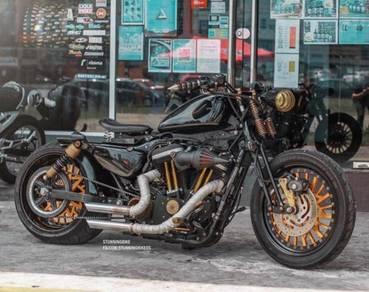 2012 Harley Davidson Sportster 883 Iron Custom