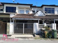 Air Putih Medium Cost Double Storey For Sale Rm250k, TOWN AREA !!