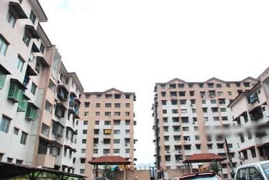 Apartment Lestari, Damansara Damai, Ground Floor, Partly Renovated