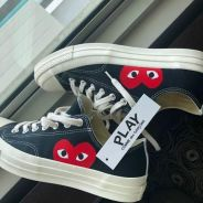 Converse CDG Play for Sale