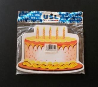 NEW Laminated Flashcard - Cakes
