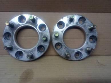 JAPAN ORI 15mm 5H 5 Hole 114.3 PCD Wheel Spacer