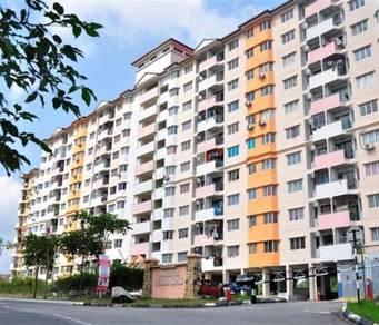 Pangsapuri Perdana Impian Kajang 859sqft RENOVATED Nice View Full Loan
