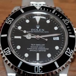 Rolex Seadweller 16600 full set mint 1220m
