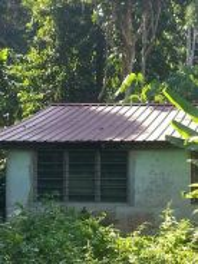 Atap dgn papan umah lama dan terpakai