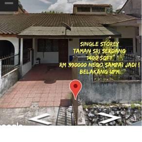 House for Sale- Taman Sri Serdang