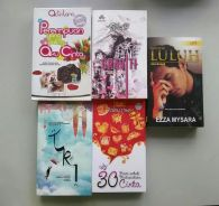 Kombo novel: Perempuan Yang Paling Aku Cinta dll