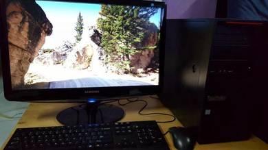 Desktop intel i7 lenovo thinkstation