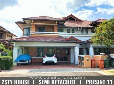 [ GOOD CONDITION ] - 2 Sty ( SEMI D ) House THYMES P11, Putrajaya 2019