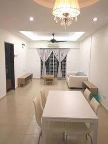 Raja Uda cassia condo partial furnish with kitchen 2 cp