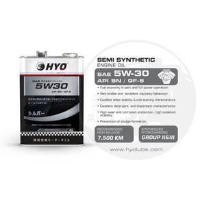 HYO Engine Oil 5w-30 Semi Synthetic (4L)