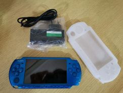 PSP 3k blue complete set (full games )