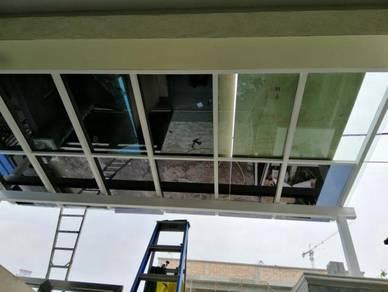 Home Tinted pakar rumah awning glass 3layer film