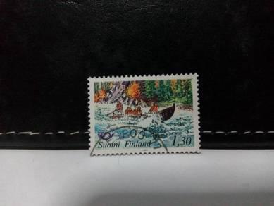 1983 Finland Stamp, Tourism