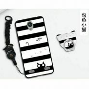 Ready stock cartoon tpu case for zte blade a520