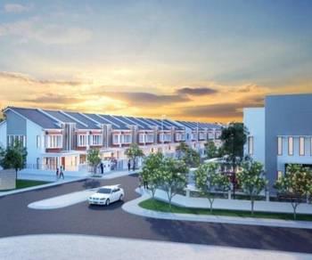 [#new 2 stry terrece project !] bangi (jalan bangi lama) full loan !!