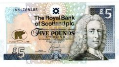 Scotland Commemorative banknote UNC
