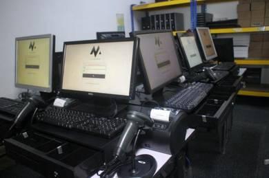 Mesin Cashier POS System Kaunter Cash Register 081
