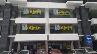 KL Traders Square half shop for rent