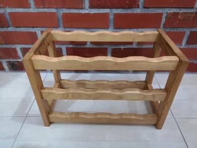 Wine Wooden Rack