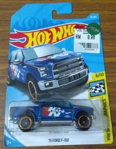 Hot Wheels - 15 Ford F-150 K&N (Blue)