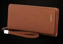 Genuine Leather Baellery Men's Wallet Clutch