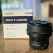 Lens Sigma 56mm F/1.4 for Sony apsc