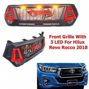 Toyota hilux rocco trd grill with led bodykit
