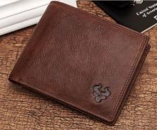 G.Z 100% Genuine Cow Leather Men's Wallet