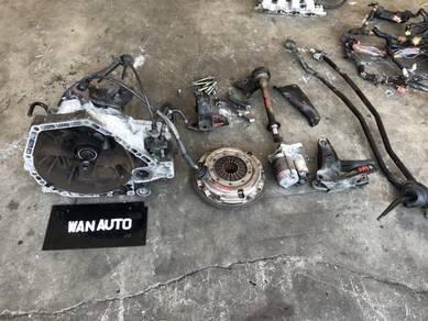 Honda Civic ef9 sh4 crx ex ed gear box manual b16a