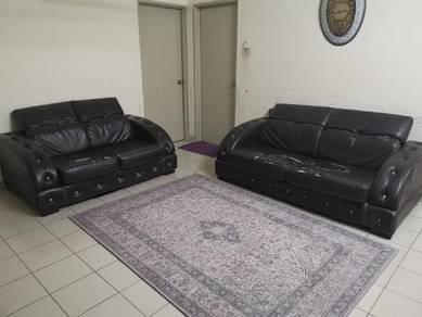 Sofa leather 3+2