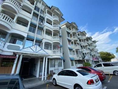 | 3 ROOM 2ND FLOOR FURNISH | Cheng Ria Apartment Malim Bertam Melaka