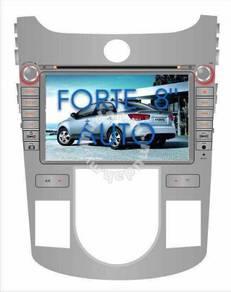 Kia forte oem car dvd player 8 inch with gps