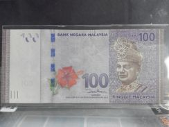 100 ringgit Replacement note ZA2225243 UNC