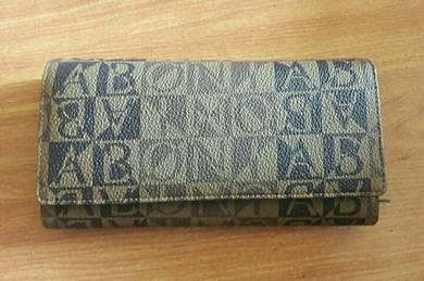 Bonia Monogram Purse
