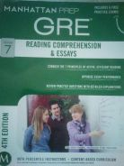 GRE Guide 7: Reading Comprehension & Essays