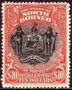 Any types of Stamps with North Borneo Logo