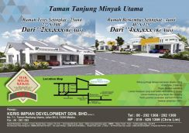 Rumah teres setingkat 22' x 108' Melaka Tengah (With CCC) LAST 2 UNITS
